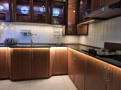kitchen aluminium pantry cupboards